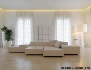 Una casa de lujo y minimalista en Italia