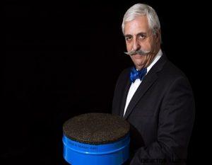 La lata de caviar más grande