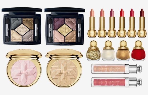 Maquillaje Dior Golden shock