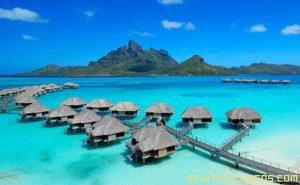Bora Bora es un paraíso