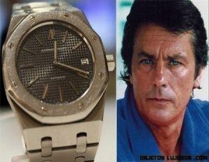 Subasta de los relojes de Alain Delon