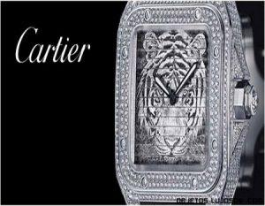 Relojes Cartier Santos tres en uno