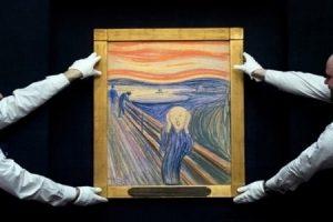 Subastan el cuadro de Munch