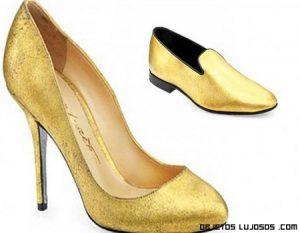 El oro a tus pies con estos zapatos de lujo