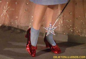 Zapatillas de rubí