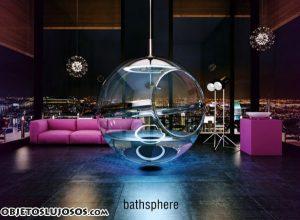Una ducha original con Bathsphere