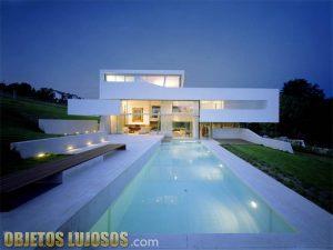 Casas con fachadas modernas y lujosas