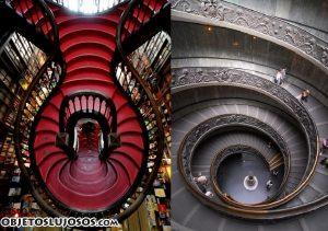 Escaleras muy originales