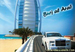 Hotel de Lujo Burj Al Arab 7 estrellas