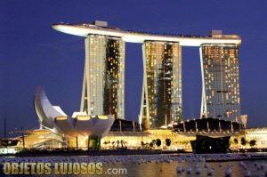 El hotel Marina Bay Sands de Singapur