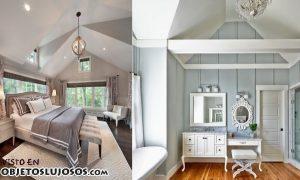Habitaciones elegantes con altos techos