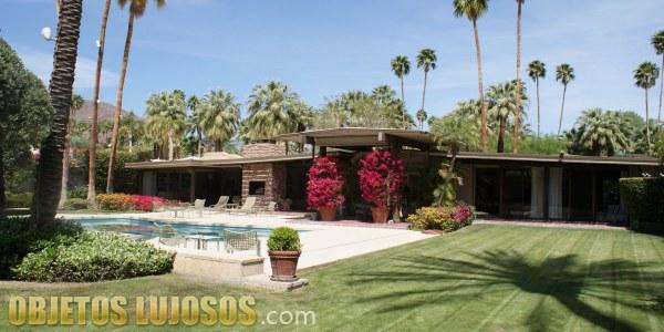 La mansión del actor Kirk Douglas
