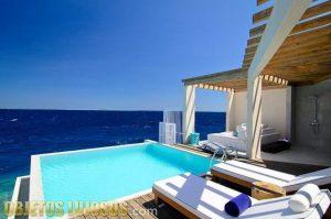 Unos preciosos resorts en las Maldivas
