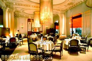 Uno de los restaurantes más caros