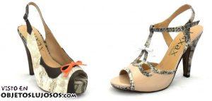Zapatos modernos y muy juveniles