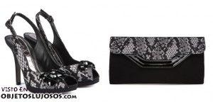 Magrit combina el bolso y los zapatos